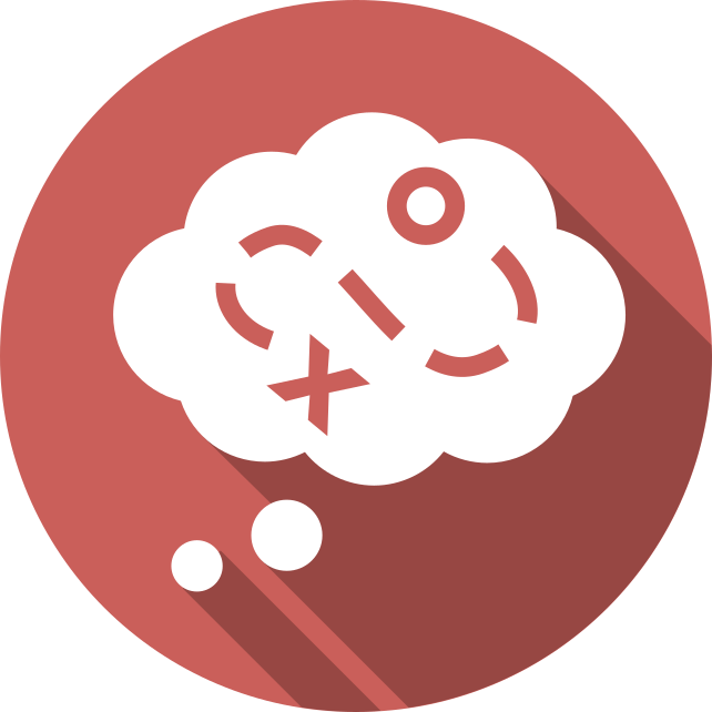 icon of thoughts on design